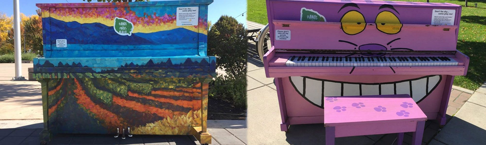 Pianos in Parks 2020